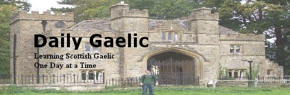 Daily Scot's Gaelic