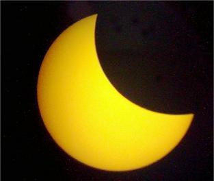Habrá cuatro eclipses de Sol y dos de Luna durante todo el 2011 Eclipse+parcial+de+sol
