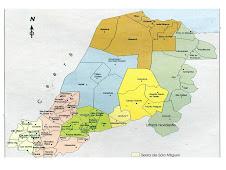 MAPA DA REGIÃO OESTE POTIGUAR