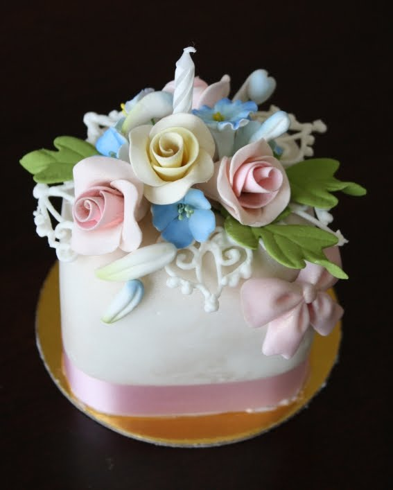 Cake Decorating Questions : Let Them Eat Cakes: Miniature Birthday Cake