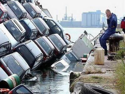 Locos Accidentes de Carros