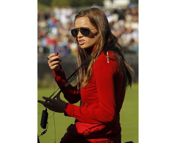 sports hotties golf hottie gulbis  dustin johnson