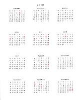 święta 2010 kalendarz