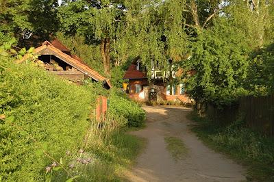 wioska Pluski Stawiguda