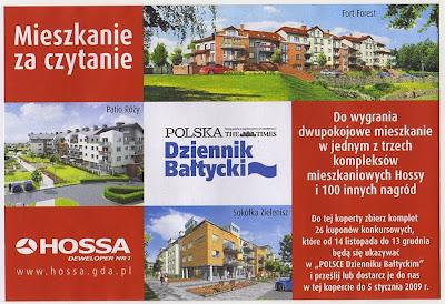 koperta mieszkanie za czytanie dziennik bałtycki