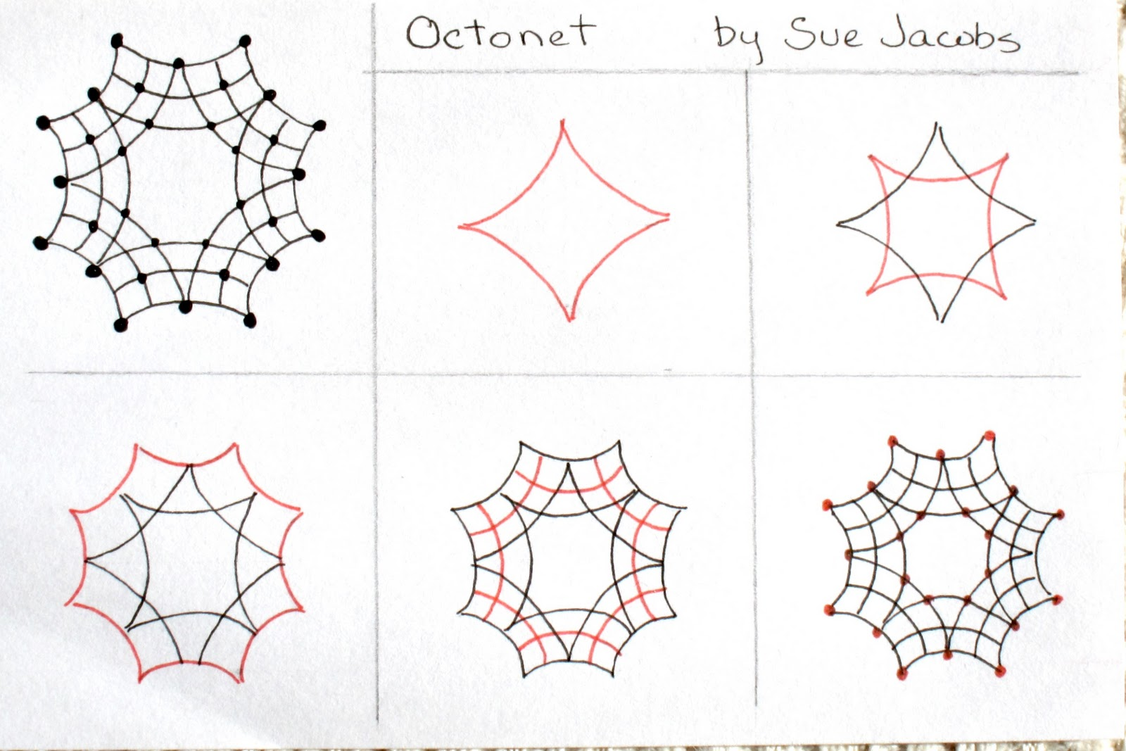 Simple Zentangle Patterns Step By Step Images & Pictures - Becuo