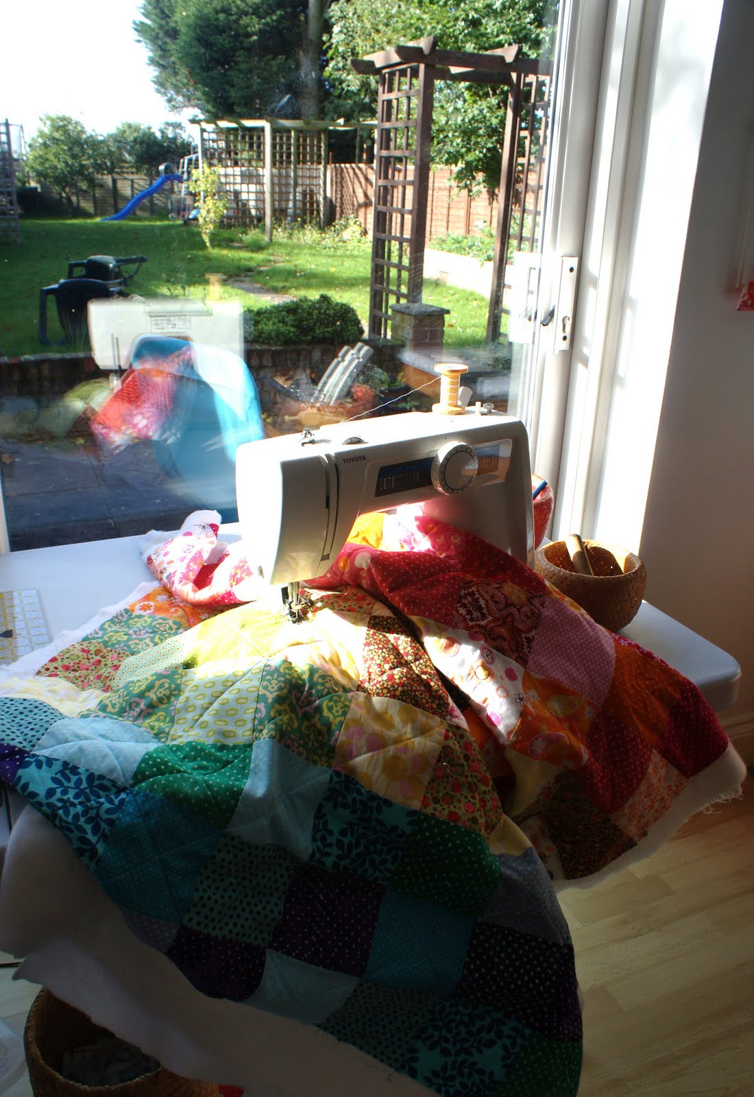 The dining room drawers quilting in the sun for Dining room quilter