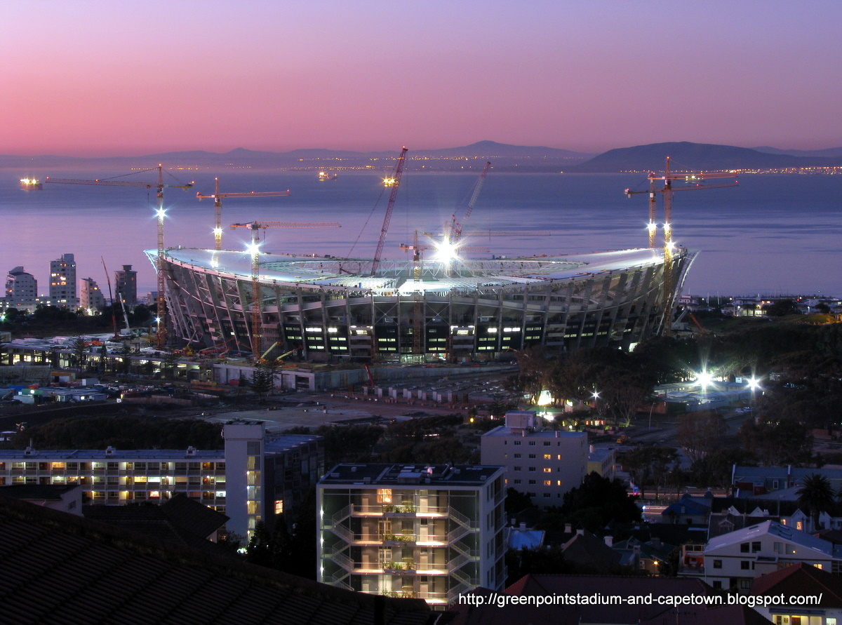 Green Point Stadium And Cape Town Daily Photos Book In Cape Town In 2010 Its The Most Beautiful
