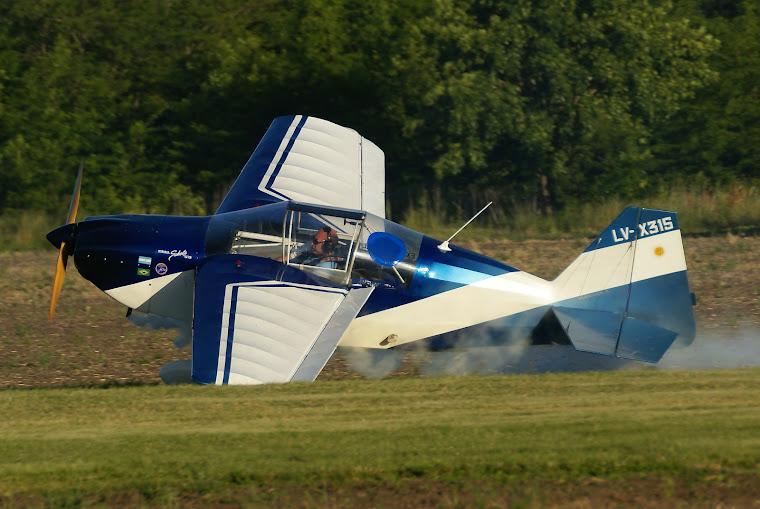 Aterrizando el S10