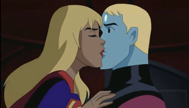 Justice League Unlimited Supergirl