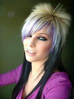 coupe de cheveux emo pour fille