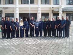 Bersama teman-teman hakim Pengadilan Agama  Bantul