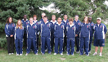 2008 Spartan Cross Country Team