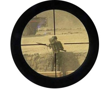 sniper scope crosshair