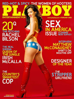 Playboy USA 2008.02 – Rachel Bilson & Miss February Michelle McLaughlin