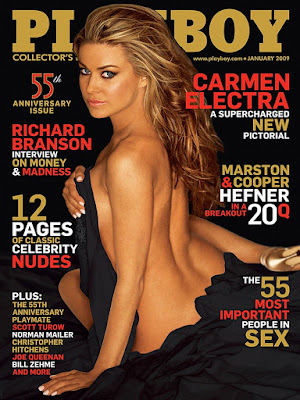 Playboy U.S.A. 2009.01 Carmen Electra & Playmate Dasha Astafieva