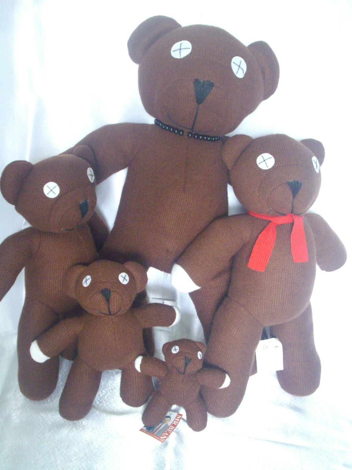 singaporegiftshop mr bean 39 s teddy bear. Black Bedroom Furniture Sets. Home Design Ideas