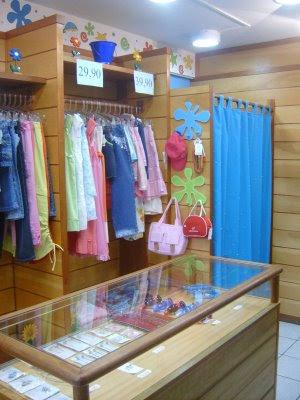 Decoração de loja infantil