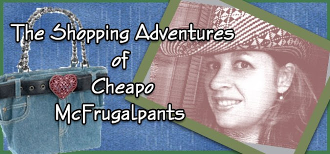 The Shopping Adventures of Cheapo McFrugalpants