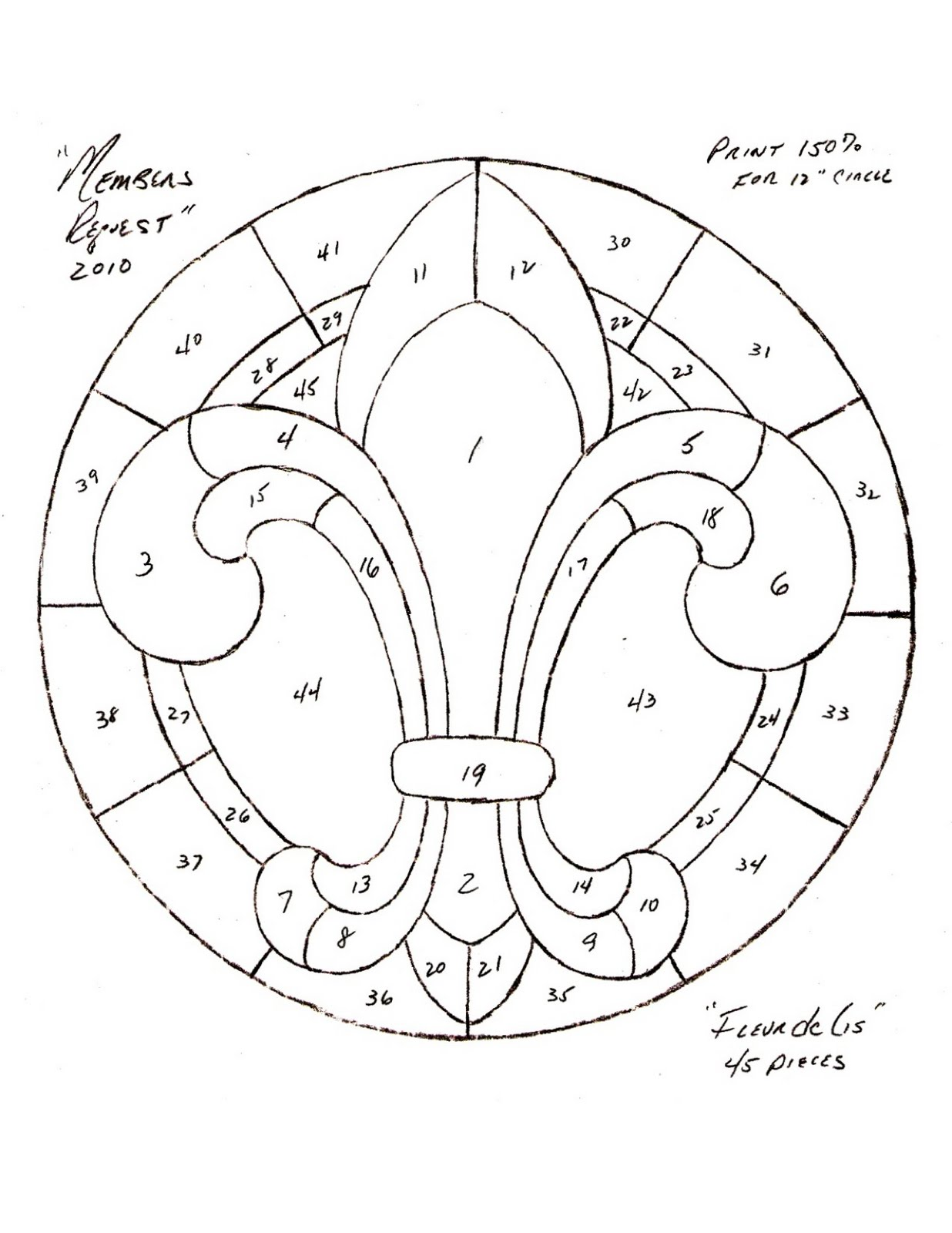 FREE CELTIC STAINED GLASS PATTERNS