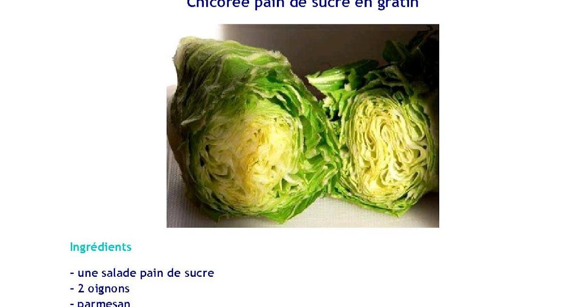 Paniers bio dans le pays de gex chicor e pain de sucre en - Pain de sucre legume ...