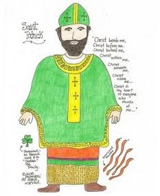 catholic st patricks day printables - St Patrick Coloring Page Catholic