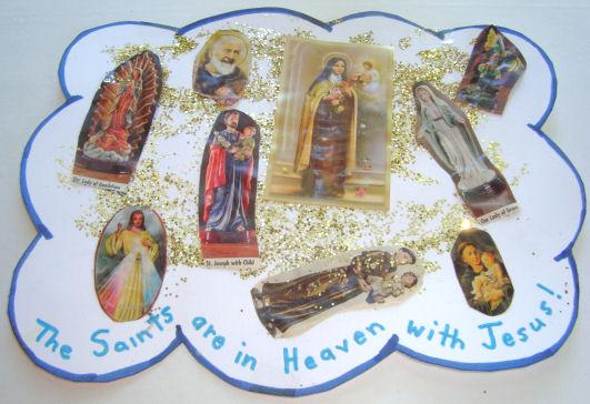 all saint preschool all s day catholic craft for 303