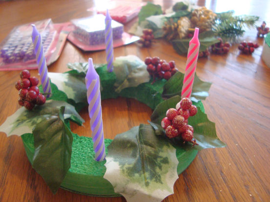 of sts peter and andrew advent wreath craft for catholic kids