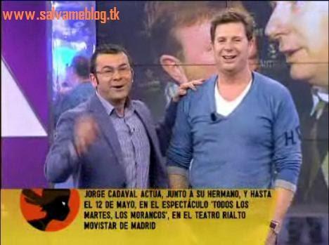 ¿Cuánto mide Jorge Cadaval? (Los Morancos) - Altura S%C3%A1lvameblog%2BJorge+Javier+V%C3%A1zquez,+Jorge+Cadaval