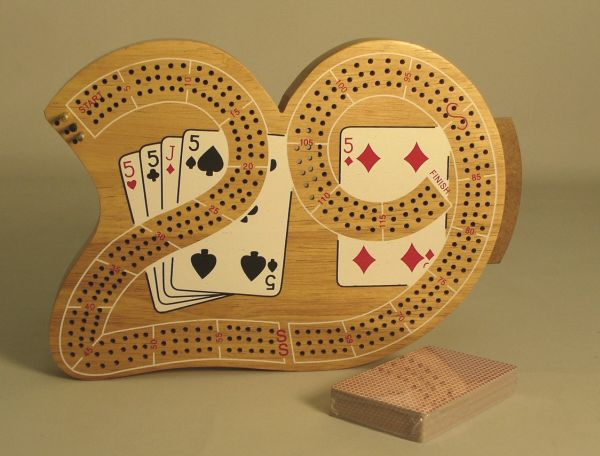 how many points is 4 of a kind in cribbage what is a skunk