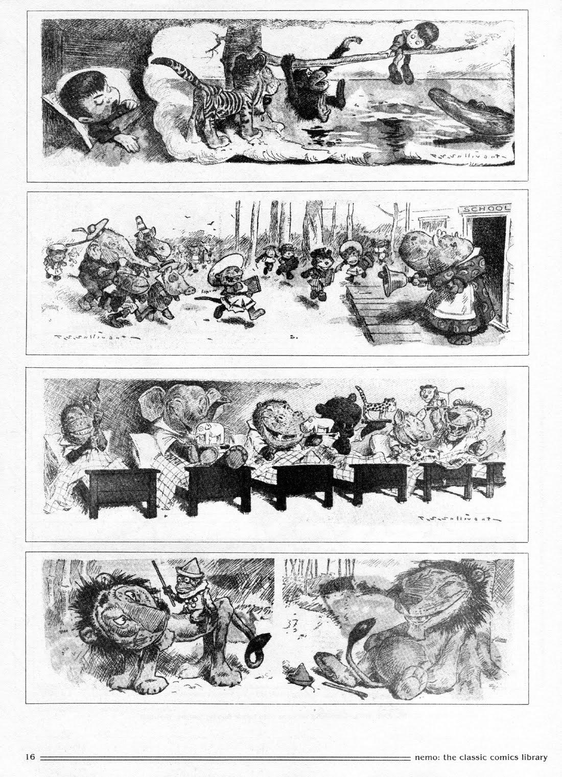 Sullivant and his Comic Zoo - Nemo #26 part 2