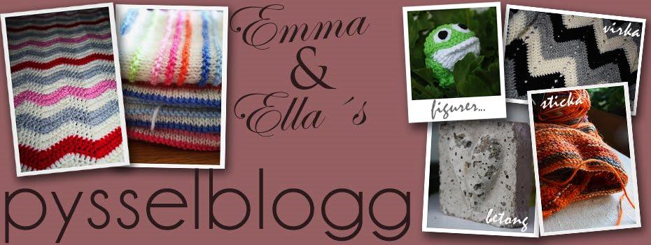 Emma & Ellas pysselblogg
