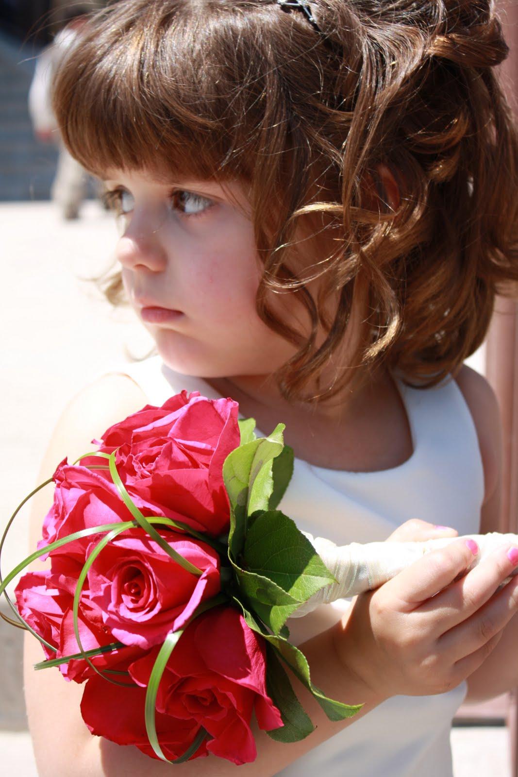 Isnt She An Adorable Flower Girl