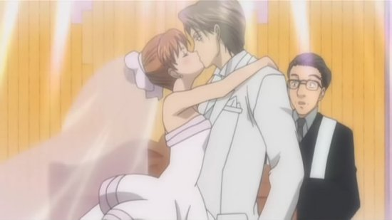 anime kissing scene. bikini scenes and watching; anime kissing scene. Itazura na kiss (Anime)