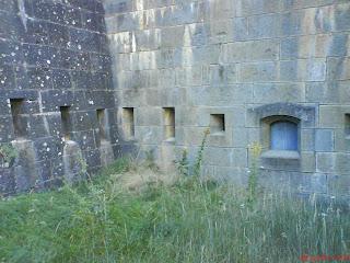 ventanas artillería fuerte de Rapitán Jaca
