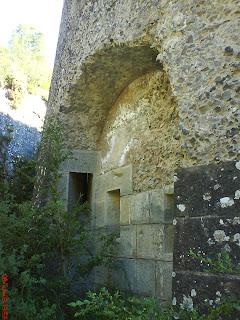 pared muralla fuerte de Rapitán Jaca