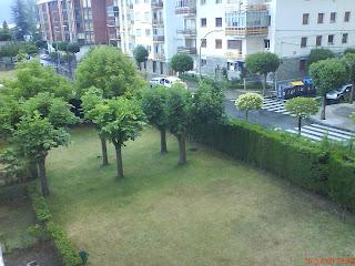 Jardines  residencia universitaria Jaca