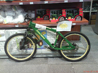 Bicicleta Jonh Deere