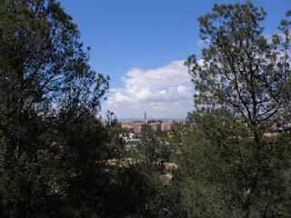 vista mirador escultura parque de atracciones Zaragoza