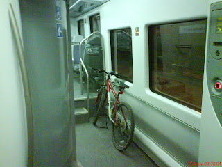 espacio bici tren cercanías Zaragoza