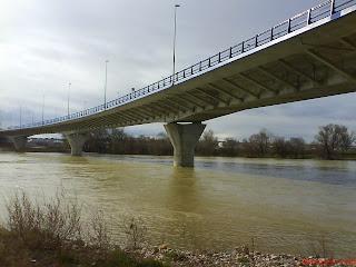 puente Z-40 Ebro Zaragoza