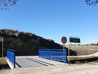 puente anillo verde Canal Imperial de Aragón junto a la Cartuja