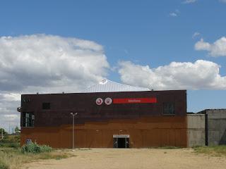 Estación de Miraflores tren de cercanías Zaragoza