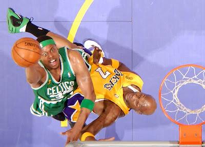 Pierce en las finales de la NBA de 2008