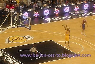 Kobe en un tiro libre