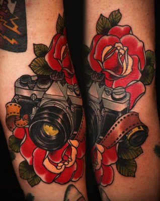 Camera Tattoos - for all you Photography Nerds
