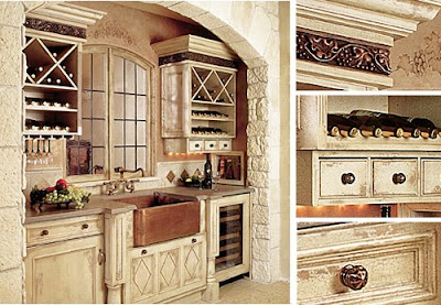 French Country Kitchen Photos
