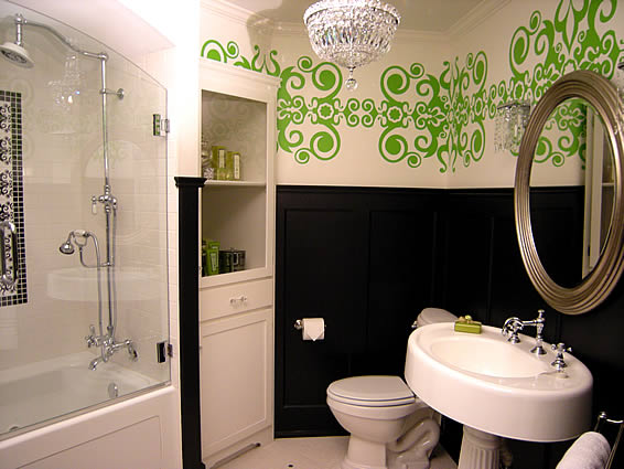 NEW DECORATE A BATHROOM