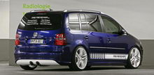 VW Touran 2012 Engine and Body Modification