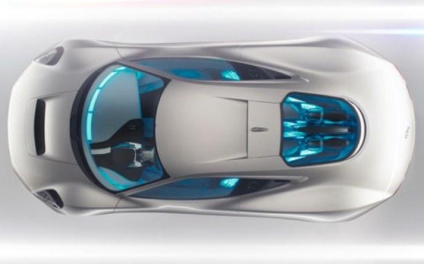 Jaguar's C-X75 Concept Design Interior